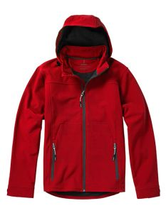 Langley Softshell Jacket-red-XS