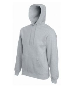 Set-in hooded-heather grey -S
