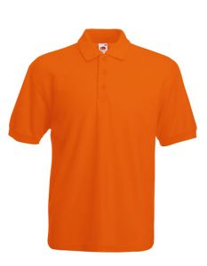 65/35 piqué polo-orange-S