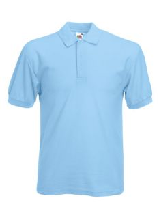 65/35 piqué polo-light blue-S