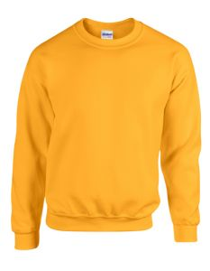 Heavy Blend™ adult crewneck sweatshirt-gold yellow-S
