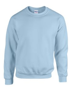 Heavy Blend™ adult crewneck sweatshirt-light blue-S