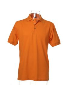 Workwear Polo Superwash-orange-S