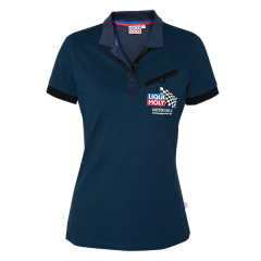 Polo-Shirt Damen darkblue