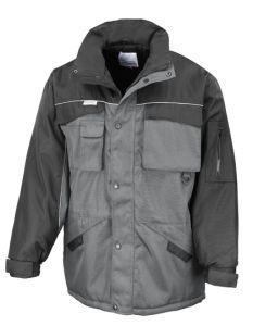 Heavy duty combo coat-gray-S