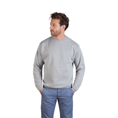 New Men's Sweater 100-steel grey-XS